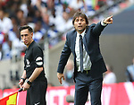 Antonio Conte manager of Chelsea during the Emirates FA Cup Final match at Wembley Stadium, London. Picture date: May 27th, 2017.Picture credit should read: David Klein/Sportimage
