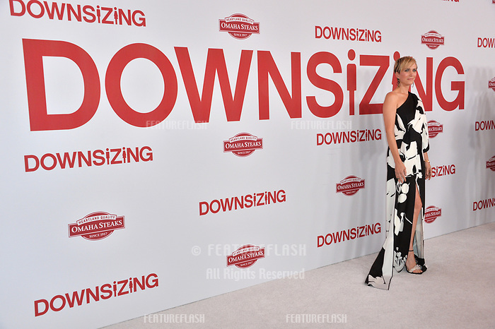 Kristen Wiig at the special screening of &quot;Downsizing&quot; at the Regency Village Theatre, Westwood, USA 18 Dec. 2017<br /> Picture: Paul Smith/Featureflash/SilverHub 0208 004 5359 sales@silverhubmedia.com