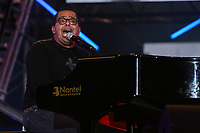 Gregory Charles performs at the St-Jean Baptist show on the Plains of Abraham in Quebec City during the Fete nationale du Quebec, Friday June 23, 2017.