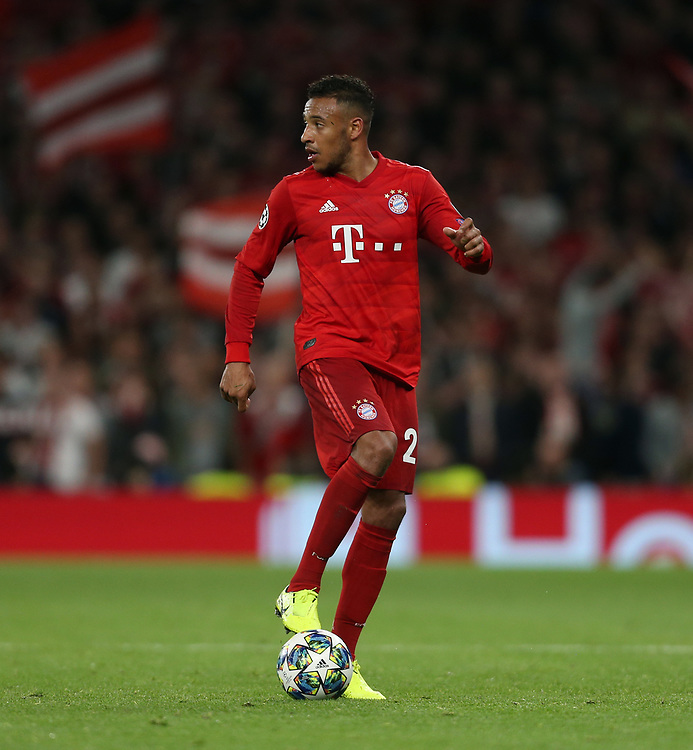 Bayern Munich's Corentin Tolisso<br /> <br /> Photographer Rob Newell/CameraSport<br /> <br /> UEFA Champions League Group B  - Tottenham Hotspur v Bayern Munich - Tuesday 1st October 2019 - White Hart Lane - London<br />  <br /> World Copyright © 2018 CameraSport. All rights reserved. 43 Linden Ave. Countesthorpe. Leicester. England. LE8 5PG - Tel: +44 (0) 116 277 4147 - admin@camerasport.com - www.camerasport.com