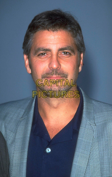 GEORGE CLOONEY.Ref: JM9860.headshot portrait goatee facial hair.www.capitalpictures.com.sales@capitalpictures.com.©James McCauley/Capital Picturesc