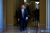 United States Senator Dick Durbin (Republican of Illinois) walks to the Senate Floor at the United States Capitol in Washington D.C., U.S., on Thursday, January 9, 2020.<br /> <br /> Credit: Stefani Reynolds / CNP/AdMedia
