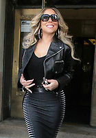 Mariah Carey Seen In New York City