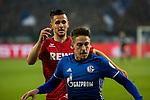 19.12.2017, Veltins-Arena , Gelsenkirchen, GER, DFB Pokal Achtelfinale, FC Schalke 04 vs 1. FC K&ouml;ln<br /> , <br /> <br /> im Bild | pictures shows:<br /> Pawel Olkowski (1.FC Koeln #16) gegen Bastian Oczipka (FC Schalke 04 #24) , <br /> <br /> Foto &copy; nordphoto / Rauch