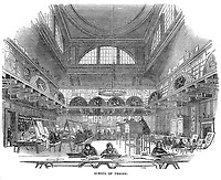 Government School of Design at Somerset House, 1843. Image from the Illustrated London News
