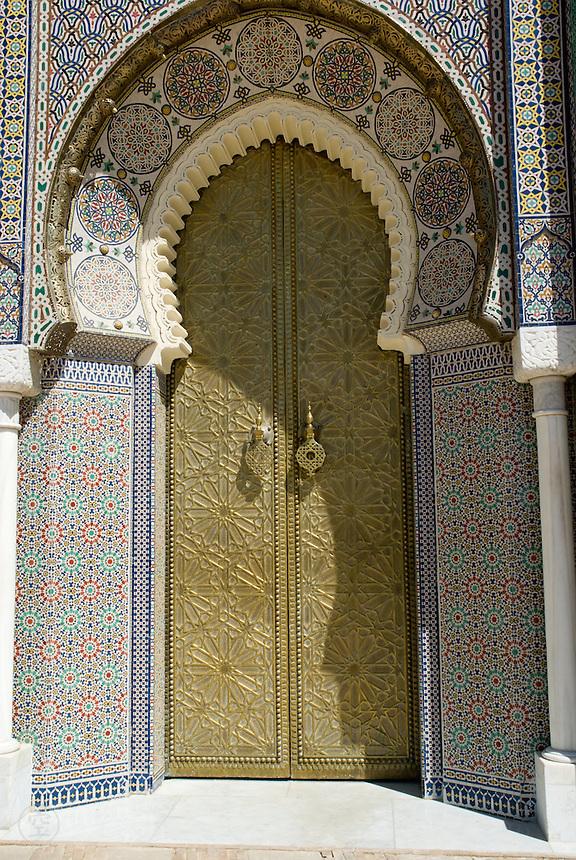 Palace door, Fez, Morocco.