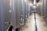 Fermentation tanks. Domaine Huet, Vouvray, Touraine, Loire, France