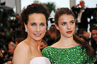 Andie MacDowell - 65th Cannes Film Festival