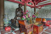 Buddhist shrine, Big Wild Goose Pagoda, Xian, China