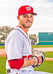 28 February 2016: Washington Nationals relief pitcher Nick Lee poses for his Spring Training Photo-Day portrait at Space Coast Stadium in Viera, Florida. Mandatory Credit: Ed Wolfstein Photo *** RAW (NEF) Image File Available ***