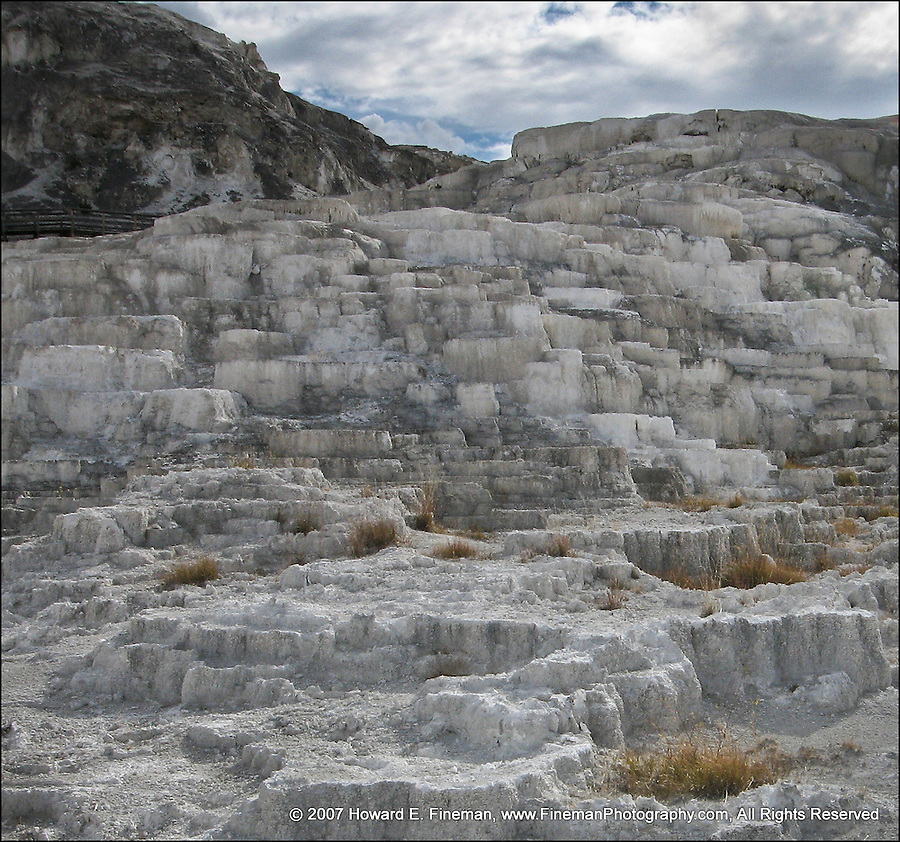 Mammoth Springs Carbonate Deposits, Yellowstone NP