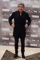 Argentinian actor Ricardo Darin during the presentation of the film &quot;Truman&quot; at NH Tepa&acute;s Palace in Madrid October 26, 2015. <br /> (ALTERPHOTOS/BorjaB.Hojas) /NortePhoto