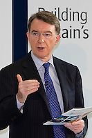 Peter Mandelson Labour Peer and Secretary of State for Business, Innovation and Skills (BIS)