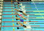 19.08.2014, Velodrom, Berlin, GER, Berlin, Schwimm-EM 2014, im Bild 200m Medley - Men, Bahn 4 - Markus Debiler, Start<br /> <br />               <br /> Foto © nordphoto /  Engler