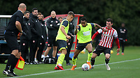 Demeaco Duhaney of Huddersfield Town in action during Brentford B vs Huddersfield Town Under-23, Friendly Match Football at Brentford FC Training Ground, Jersey Road on 12th September 2018