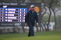Padraig Harrington (IRL) approaches the green on 18 during day 3 of the Valero Texas Open, at the TPC San Antonio Oaks Course, San Antonio, Texas, USA. 4/6/2019.<br /> Picture: Golffile | Ken Murray<br /> <br /> <br /> All photo usage must carry mandatory copyright credit (© Golffile | Ken Murray)