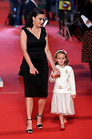 David Linch's wife Emily Stofle and daughter Lula Boginia<br /> Roma 04/11/2017.  Auditorium parco della Musica. Festa del Cinema di Roma 2017.<br /> Rome November 4th 2017. Rome Film Fest 2017<br /> Foto Samantha Zucchi Insidefoto