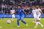 Lalpekhlua Jeje of India (L) in action during the AFC Asian Cup UAE 2019 Group A match between India (IND) and Bahrain (BHR) at Sharjah Stadium on 14 January 2019 in Sharjah, United Arab Emirates. Photo by Marcio Rodrigo Machado / Power Sport Images