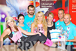 Claire Donnelly and staff from Argos Killarney who dressed up for the Colour Me 80's to raise funds for the Alziemers Association of Ireland last Saturday l-r: Siobhain O'Sullivan, Austin Cirillo, Danielle McHugh, Karen Murphy, Daniel Breen, Dominic Wolek