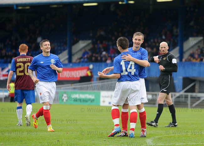 Barrie McKay takes the acclaim after scoring