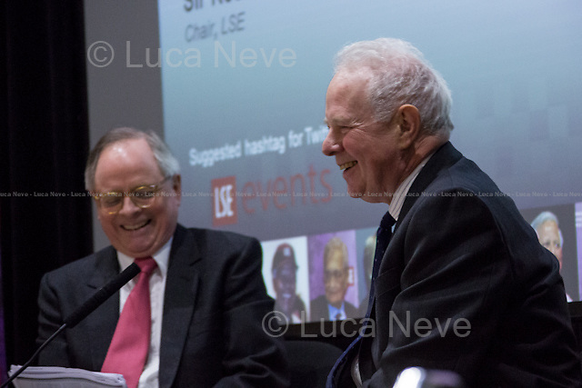 (From R to L) Lord John Thomas &amp; Sir Ross Cranston. <br />