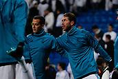 6th December 2017, Santiago Bernabeu, Madrid, Spain; UEFA Champions League football, Real Madrid versus Dortmund; Sergio Ramos Garcia (4) Real Madrid Pre-match warm-up