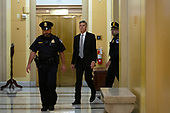 William Taylor, the acting U.S. ambassador to Ukraine, arrives to his closed-door deposition  before the U.S. House Intelligence, Foreign Affairs and Oversight committees on Capitol Hill in Washington D.C., U.S. on October 22, 2019.<br /> <br /> Credit: Stefani Reynolds / CNP