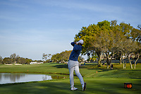 Brooks Koepka (USA) watches his tee shot on 12 during round 2 of the Arnold Palmer Invitational at Bay Hill Golf Club, Bay Hill, Florida. 3/8/2019.<br /> Picture: Golffile | Ken Murray<br /> <br /> <br /> All photo usage must carry mandatory copyright credit (&copy; Golffile | Ken Murray)
