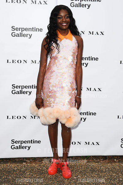 Azaelia Banks arriving for the Serpentine Gallery Summer Party 2012, Hyde Park, London. 26/06/2012 Picture by: Steve Vas / Featureflash