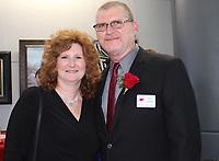 NWA Democrat-Gazette/CARIN SCHOPPMEYER Sonja and Kevin Campbell