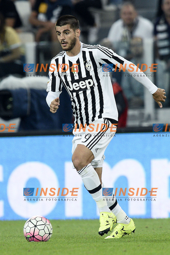 Alvaro Morata<br /> Torino 12-09-2015 Stadio Olimpico, Football Calcio Serie A 2015/2016, Juventus-Chievo Verona, Foto Daniele Buffa/Image Sport/Insidefoto