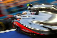 CINGAPURA, CINGAPURA, 22 SETEMBRO 2012 - F1 - GP SINGAPURA - O piloto britano Lewis Hamilton da Mercedes, durante treino livre para o GP de Cingapura de Fórmula 1, em Cingapura, neste sabadp.22. (FOTO: PIXATHLON / BRAZIL PHOTO PRESS).