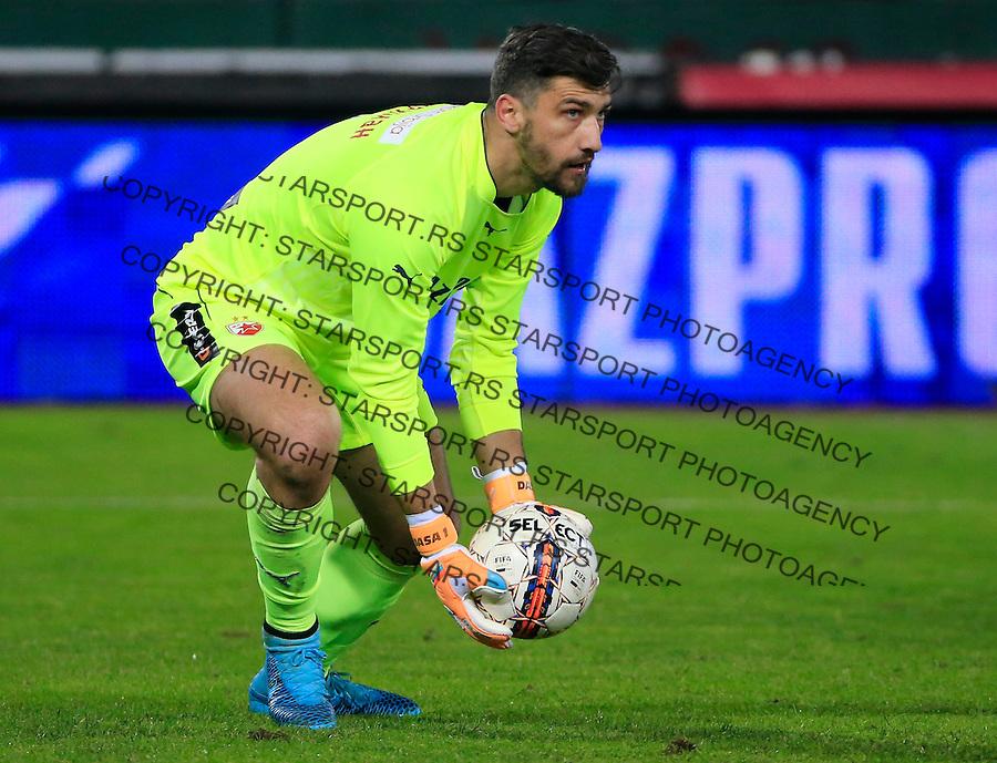 Fudbal Jelen Super League season 2015-2016<br /> Crvena Zvezda v OFK Beograd<br /> goalkeeper Damir Kahriman<br /> Beograd, 31.10.2015.<br /> foto: Srdjan Stevanovic/Starsportphoto&copy;