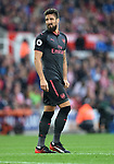 Olivier Giroud of Arsenal during the premier league match at the Britannia Stadium, Stoke. Picture date 19th August 2017. Picture credit should read: Robin Parker/Sportimage