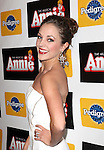 Laura Osnes attending the Broadway Opening Night Performance of 'Annie' at the Palace Theatre in New York City on 11/08/2012