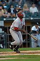 Vladimir Guerrero, of the Los Angeles Angels, in aciton against the Chicago White Sox on August 7, 2006 in Chicago...Angels win 6-3..David Durochik / SportPics