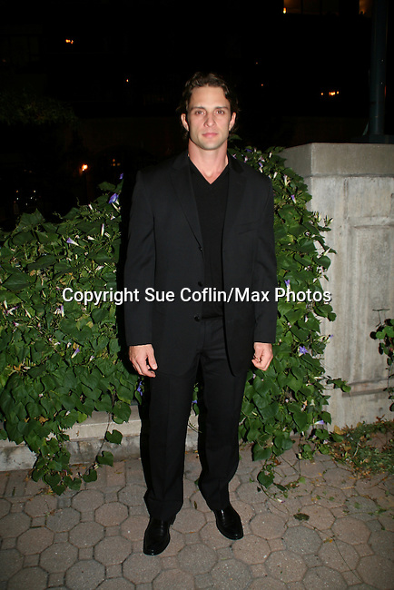 One Life To Live's David Fumero at the ABC Daytime Casino Night on October 23, 2008 at Guastavinos, New York CIty, New York. (Photo by Sue Coflin/Max Photos)