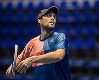 Rotterdam, Netherlands, December 15, 2016, Topsportcentrum, Lotto NK Tennis,  Boy Westerhof  (NED) <br /> Photo: Tennisimages/Henk Koster