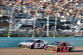 #19: Martin Truex Jr., Joe Gibbs Racing, Toyota Camry Bass Pro Shops #11: Denny Hamlin, Joe Gibbs Racing, Toyota Camry FedEx Express