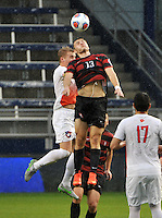 Kansas City, Kansas - Sunday, December 13, 2015: Stanford defeats Clemson 4-0 in the 2015 NCAA College Cup Final at Sporting Park.