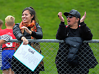 Counties Manukau fans. Day one of the 2017 Air NZ Rippa Rugby Championship at Wakefield Park in Wellington, New Zealand on Monday, 18 September 2017. Photo: Dave Lintott / lintottphoto.co.nz