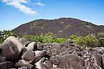 Black Mountain in Kalkajaka (Black Mountain) National Park.  Cooktown, Queensland, Australia