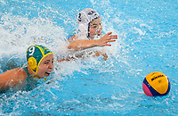 Australia v KAZ. FINA World Waterpolo League, National Aquatic Centre, Auckland, New Zealand, Wednesday 4 April 2018. Photo: Simon Watts/www.bwmedia.co.nz