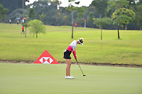 SINGAPORE - MARCH 02: Nelly Korda of USA on the 2nd green during the third round of the HSBC Women's World Championship 2019 at Sentosa Golf Club - Tanjong Course, Singapore on March 02, 2019.<br /> .<br /> .<br /> .<br /> (Photo by: Naratip Golf Srisupab/SEALs Sports Images)<br /> .<br /> Any image use must include a mandatory credit line adjacent to the content which should read: Naratip Golf Srisupab/SEALs Sports Images