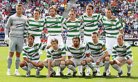 The Celtic FC starting eleven.  The Fire tied Celtic FC 1-1 at Toyota Park in Bridgeview, IL on July 22, 2007.