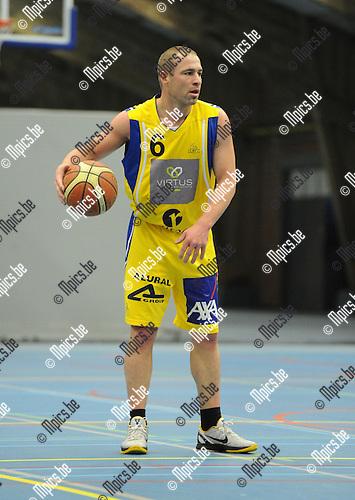 2012-11-11 / Basketbal / seizoen 2012-2013 / Soba - Turuka / Kevin Roelandts..Foto: Mpics.be
