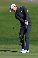 Connor Syme (SCO) on the 7th fairway during Round 2 of the Challenge Tour Grand Final 2019 at Club de Golf Alcanada, Port d'Alcúdia, Mallorca, Spain on Friday 8th November 2019.<br /> Picture:  Thos Caffrey / Golffile<br /> <br /> All photo usage must carry mandatory copyright credit (© Golffile | Thos Caffrey)