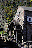 Wassermühle Moulin Lecq im St. Peter's Valley, Insel Jersey, Kanalinseln