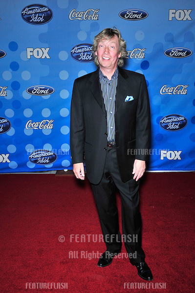 Nigel Lythgoe at party for the top 12 finalists of 2008 American Idol at the Pacific Design Centre, Los Angeles..March 6, 2008  Los Angeles, CA.Picture: Paul Smith / Featureflash