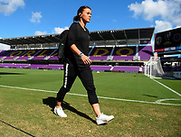 Orlando, FL - Saturday October 14, 2017: Hayley Raso during the NWSL Championship match between the North Carolina Courage and the Portland Thorns FC at Orlando City Stadium.